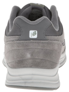 New Balance Men's MW877 Walking Shoe Rear View