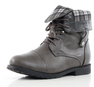 West Blvd Womens Lagos Combat Boots
