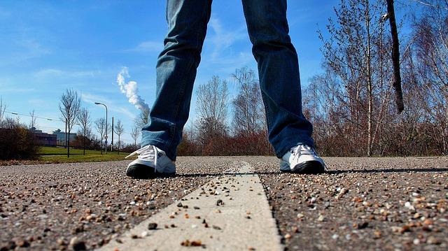 length of a man's stride