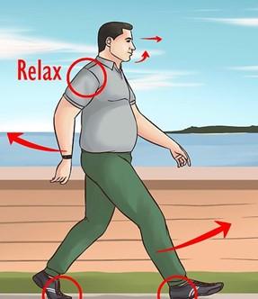 relax walking