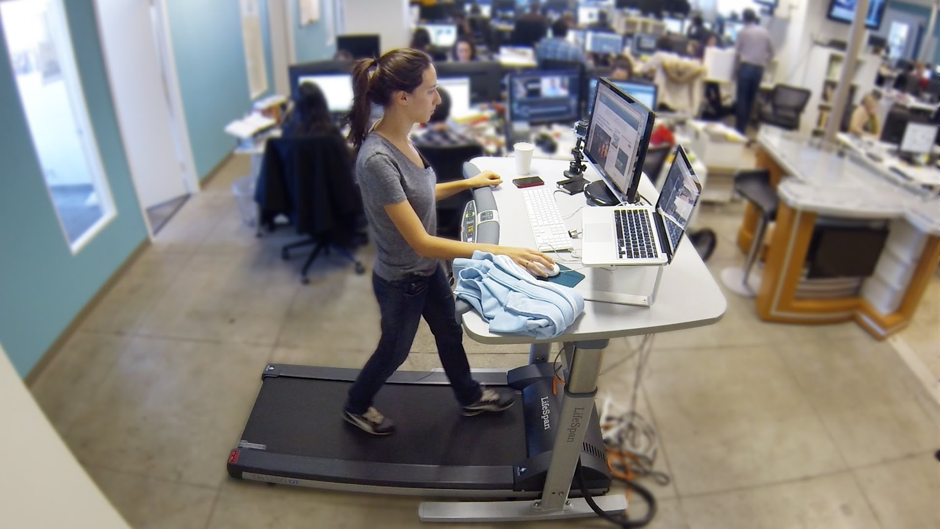 office treadmill