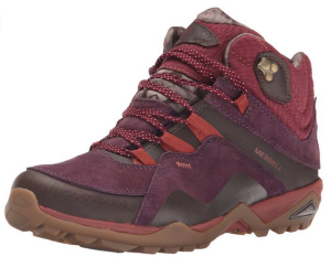 Merrell Women's Fluorecein Mid Waterproof Hiking Boot