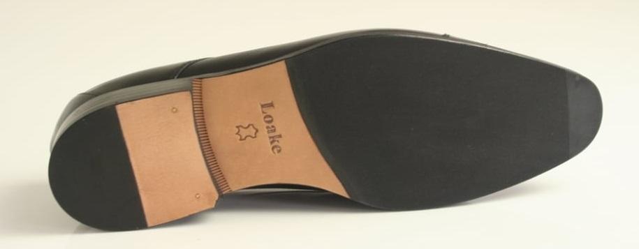 leather dress shoe sole