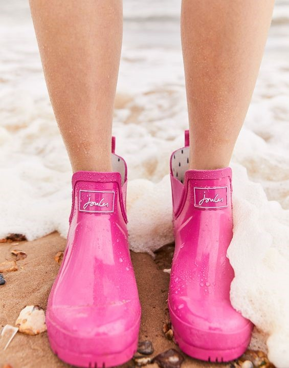 joules pink boots