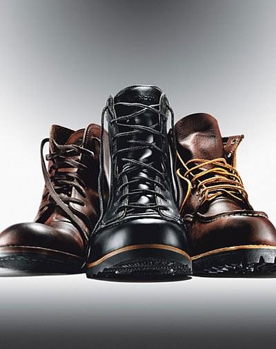 stiff boots