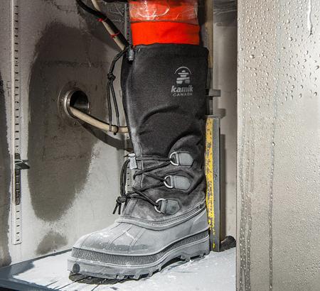 Kamik Boots testing
