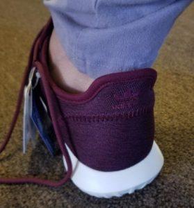 tubular shadow heel