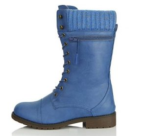 daily shoes blue boot
