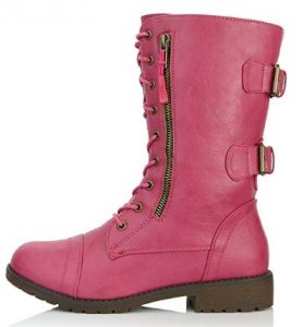 pink daily shoes boot