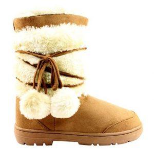 non slip snow boots womens