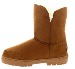tan holly snow boot