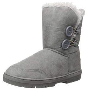grey holly snow boot