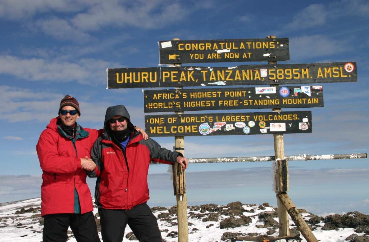 Uhuru Peak Mt. Kilimanjaro