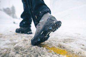 non slip snow boots