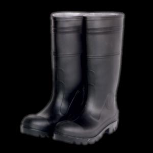 men's rain boots clc side three quarter view