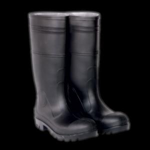 CLC Rain Wear F23011 Over The Sock Black PVC Men's Rain Boot