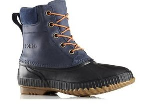 sorel men's boot side view