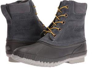 comfortable men's rain boots