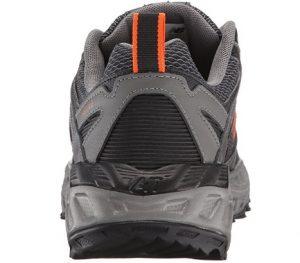 running shoe back view new balance
