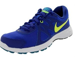Nike Revolution 2 blue side view