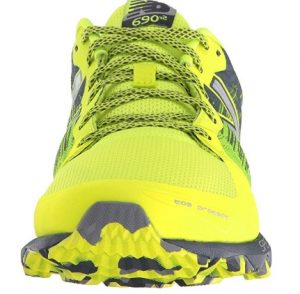 yellow shoe front view