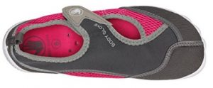 body glove women's water shoe grey and pink