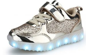 BEGT LED Girls and Boys Casual Sneakers