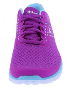purple front shoe