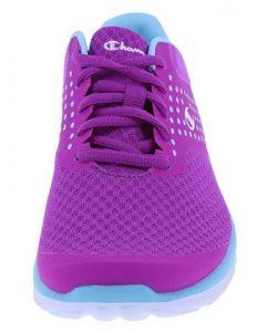purple front shoe