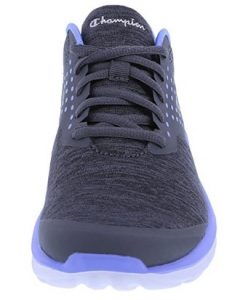 grey jersey front shoe