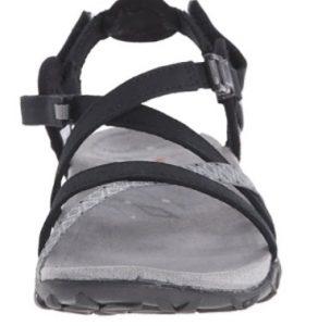 merrell terran lattice black sandal