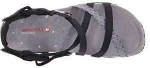 black terran lattice top of shoe
