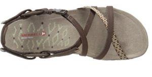 merrell terran lattice dark earth sandal