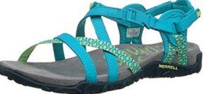 merrell lattice terran teal sandal