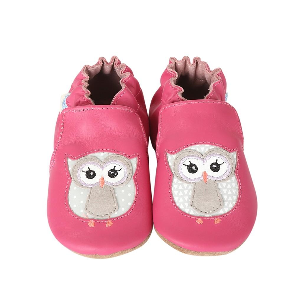 pink owls robeez