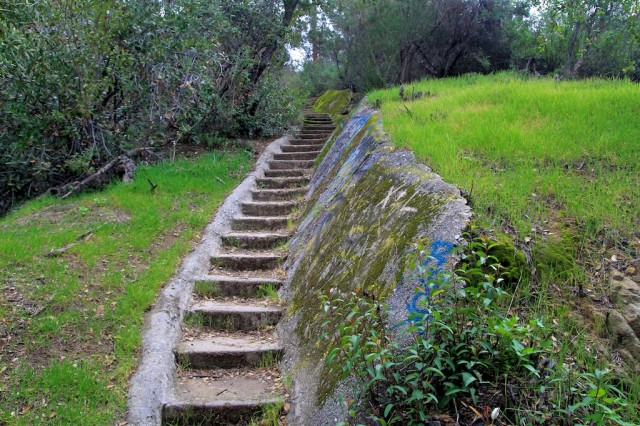 murphy ranch ruins steps