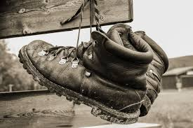 drying up boots