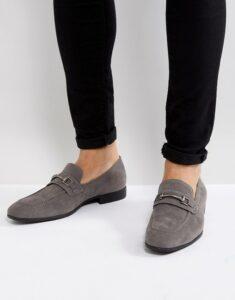 grey loafer