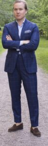 loafer and suit