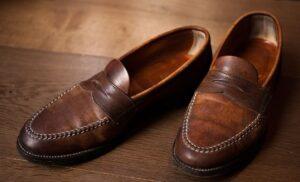 brown loafer
