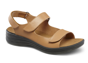 orthotic beige sandal