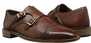 pair of monk strap