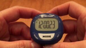 how do I reset a pedometer