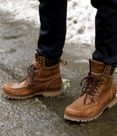 work boot lace style