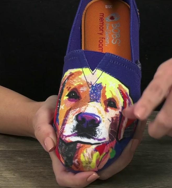 skechers bobs dogs fit of shoe