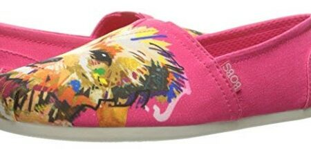 Skechers Women's Bobs Plush Dream Doodle Dog Print Shoe Review