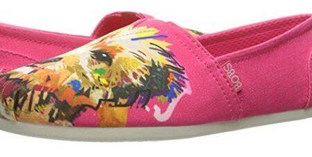 Skechers Women's Bobs Plush Dream Doodle Dog Print Shoe Review