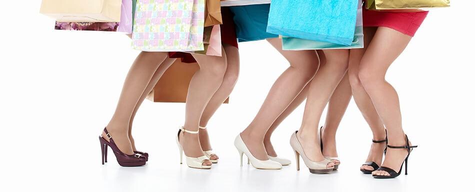 choosing sandals