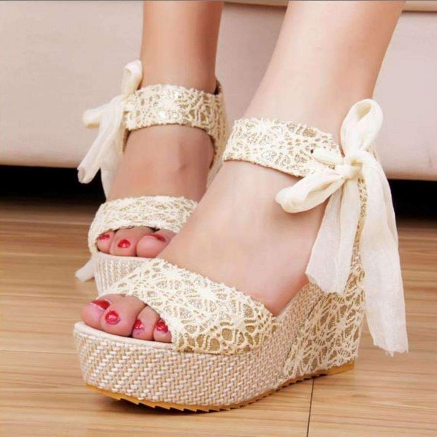 pretty wedge sandals