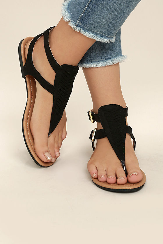 stylish vegan sandal